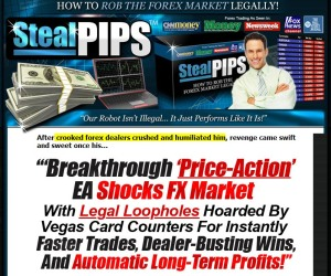 Steal pips forex robot