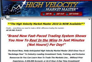 High Velocity Market Master